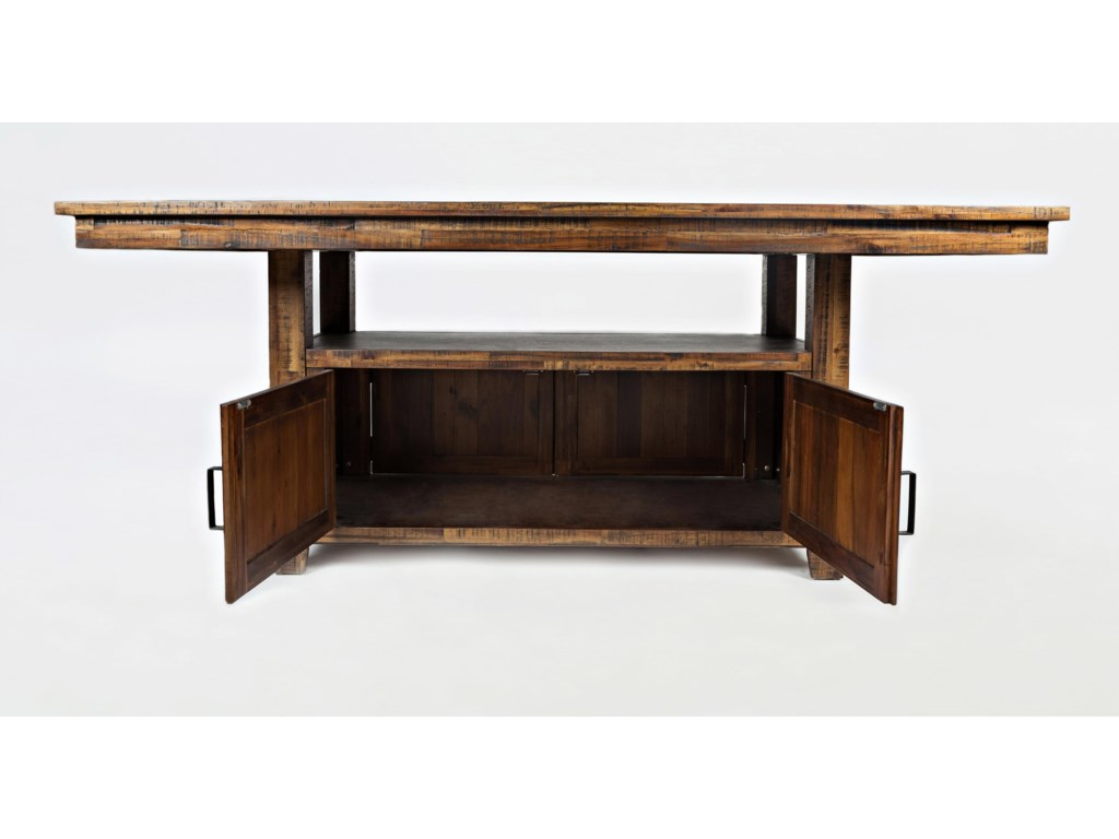 Jofran Cannon ValleyHigh/Low Table with Storage Base