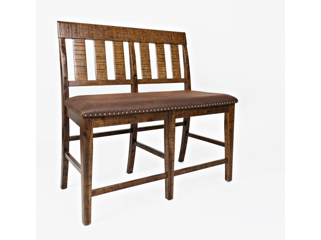 Jofran Cannon ValleyCounter Height Bench
