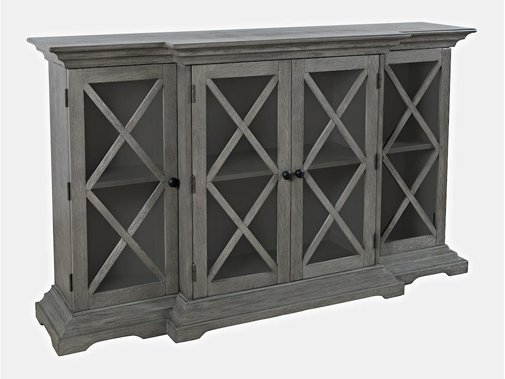 Jofran CarringtonSmall Breakfront Cabinet