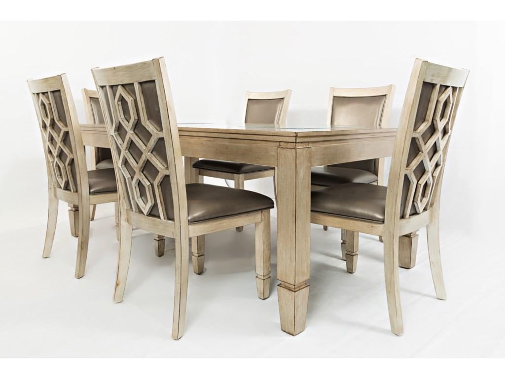 Jofran Casa BellaRectangle Dining Table with Extension
