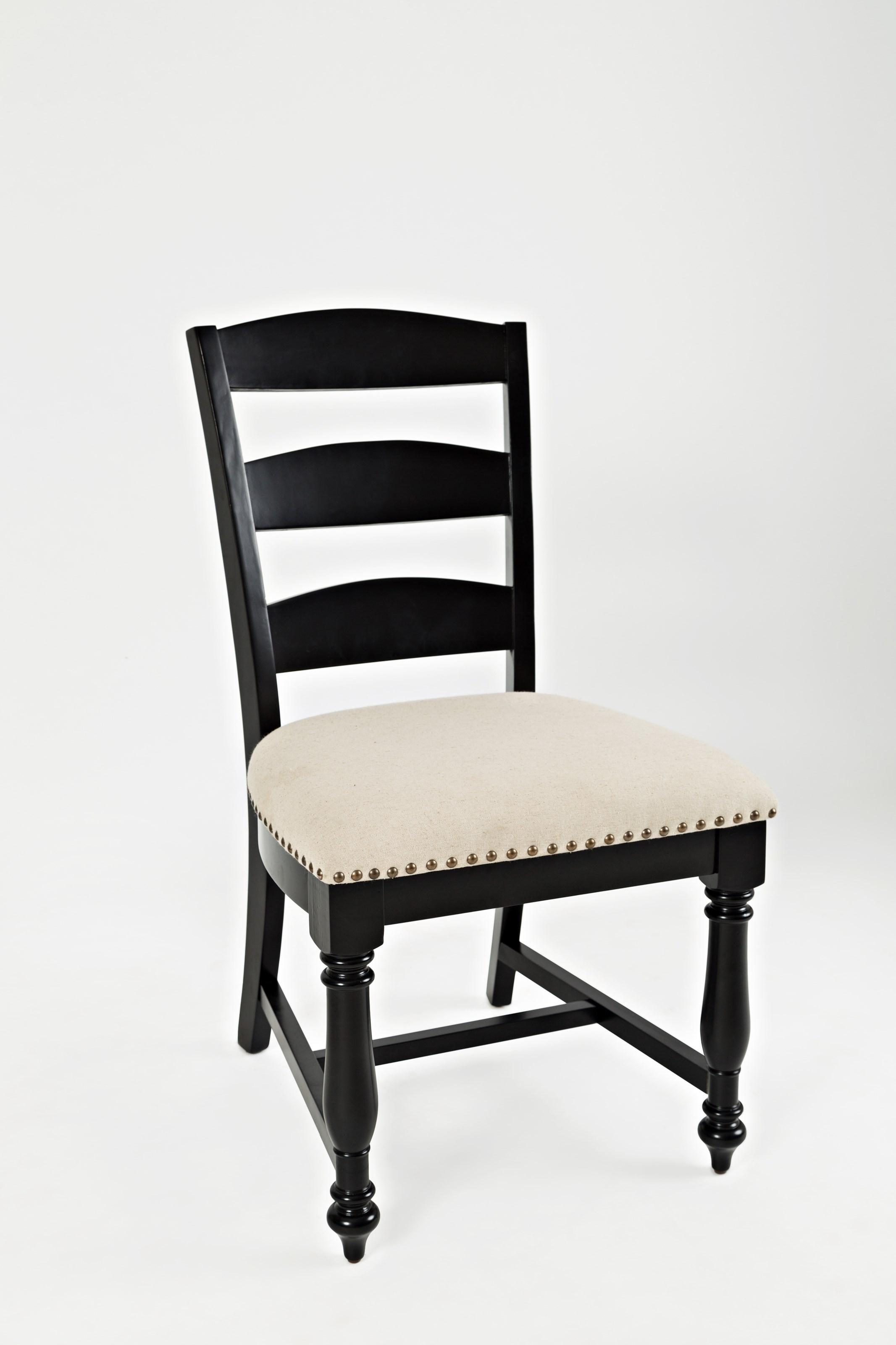 Jofran Acropolis: BlackLadder Back Dining Chair ...