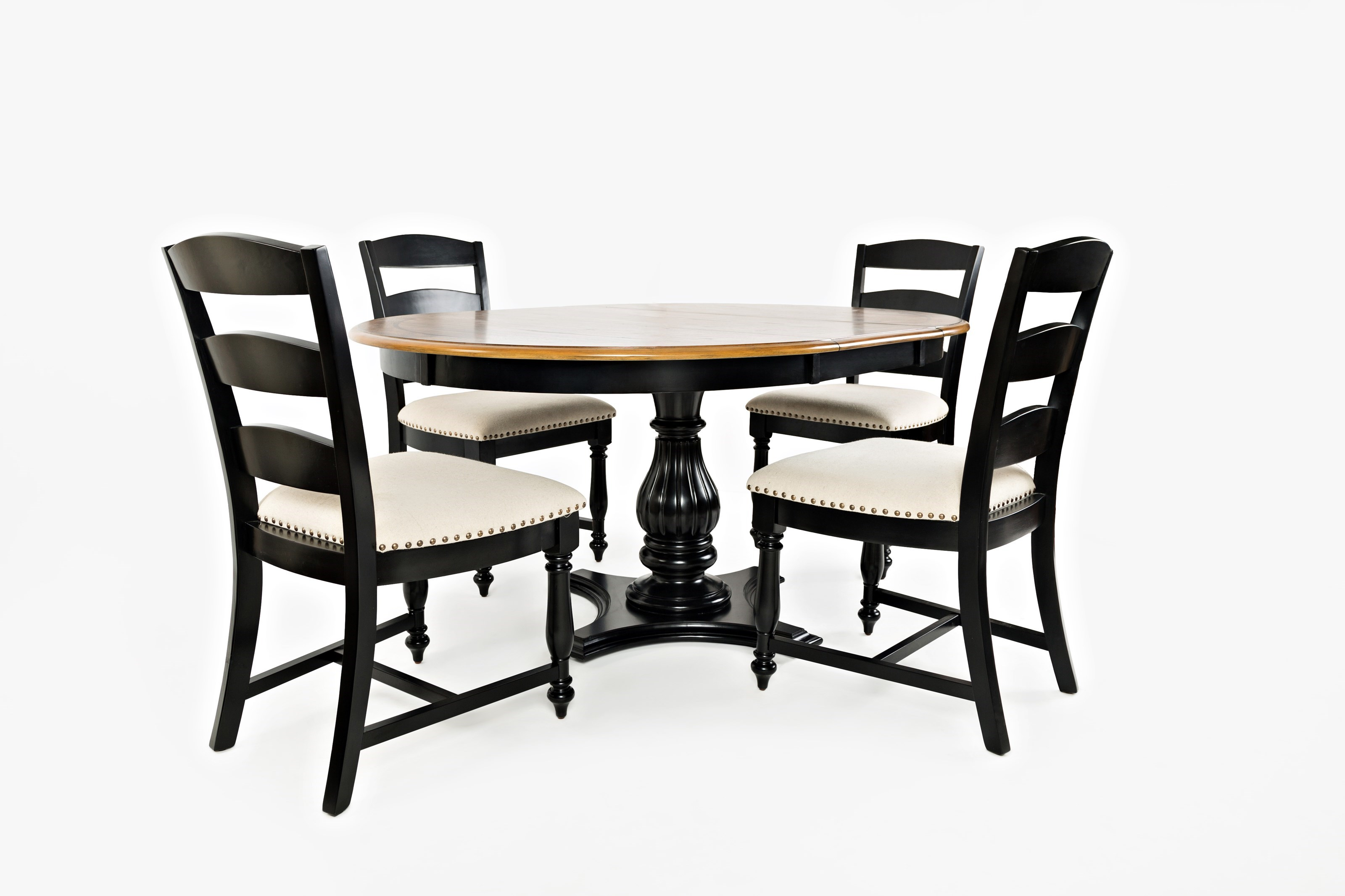 Jofran Castle Hill Oval Table And Chair Set   Zaku0027s Fine Furniture   Dining  5 Piece Sets