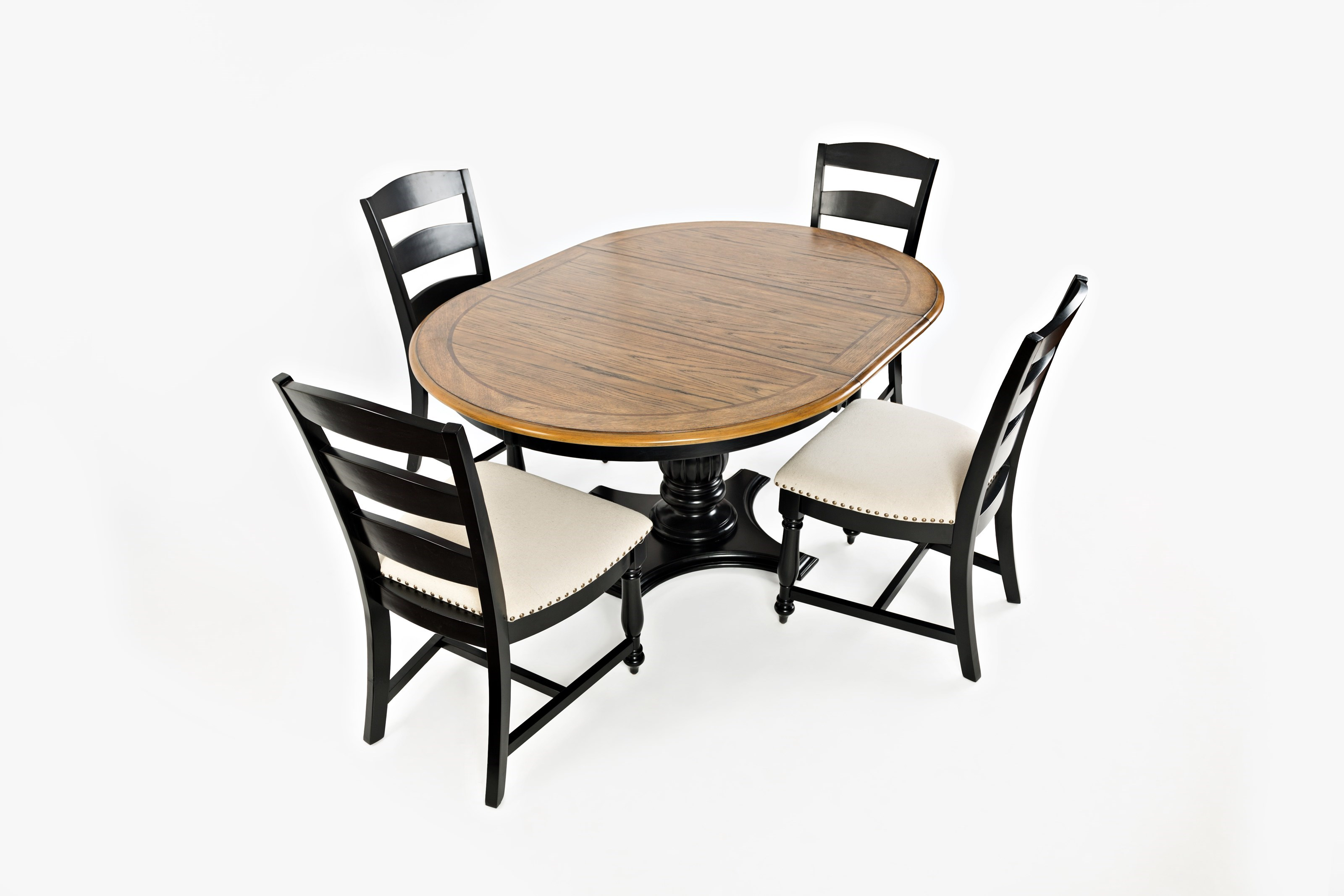 ... Jofran Castle HillRound To Oval Pedestal Dining Table ...