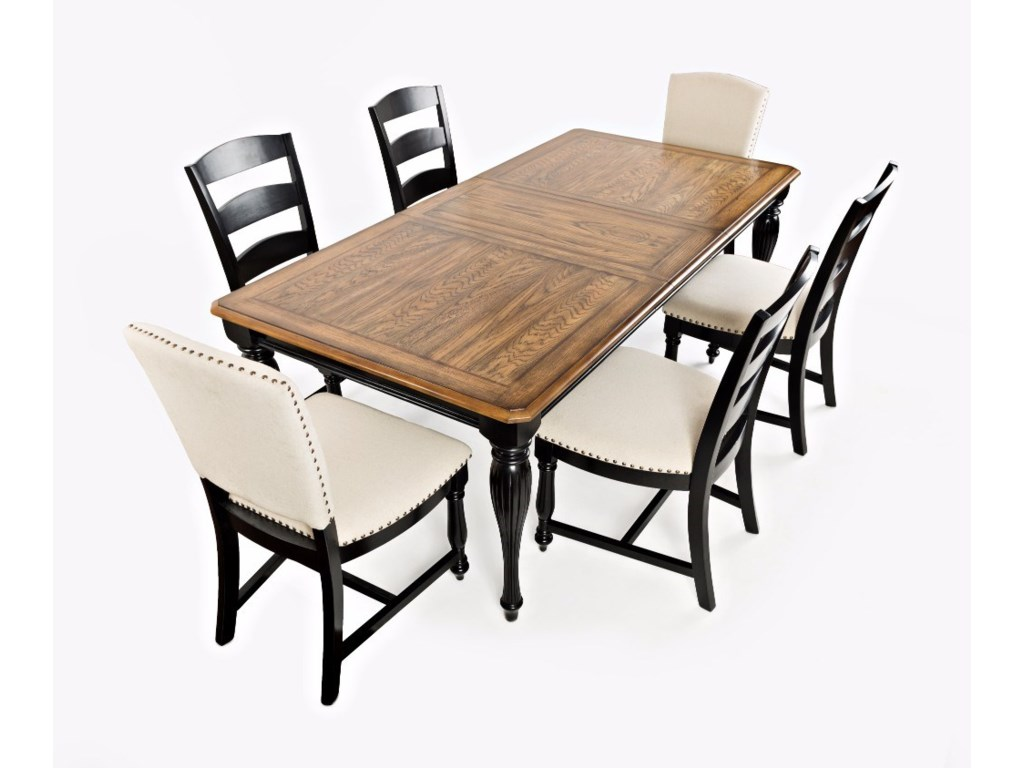Jofran Castle HillRectangle Table and Chair Set