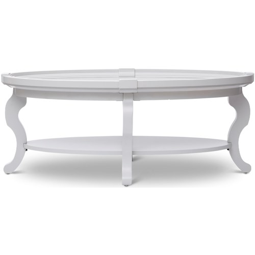 Jofran Chateau Oval Cocktail Table