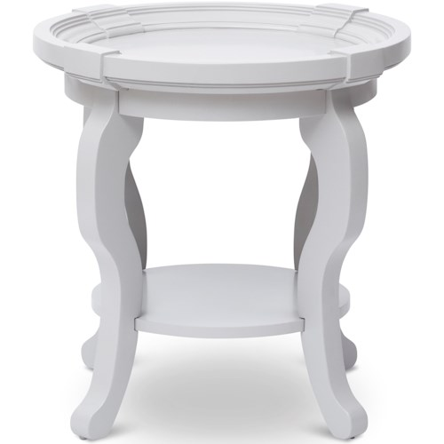 Jofran Chateau Round End Table