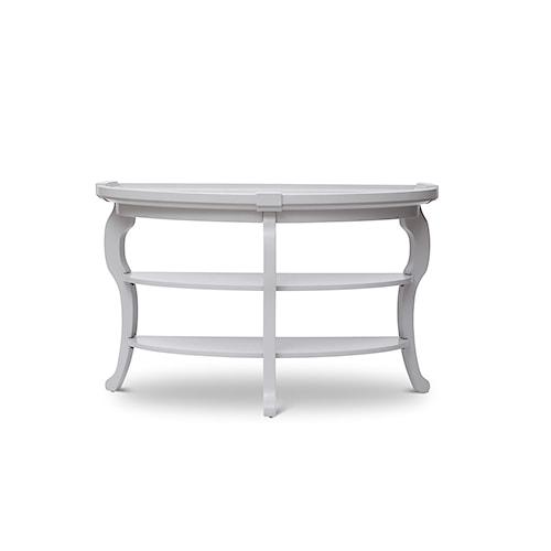 Jofran Chateau Demilune Sofa Table