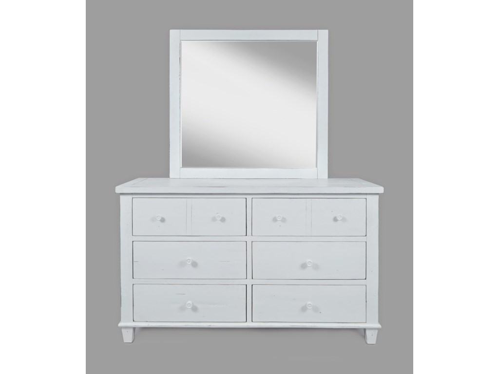 Jofran ChesapeakeDresser and Mirror