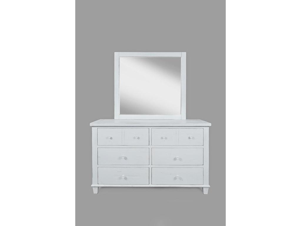 Jofran ChesapeakeDresser and Mirror
