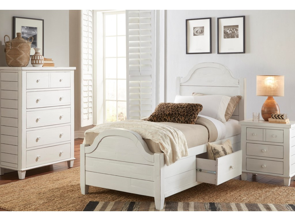Jofran ChesapeakeTwin Size Bed