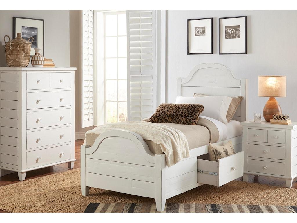 Jofran ChesapeakeTwin Size Bed