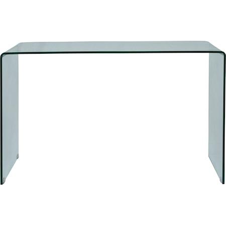 Bent Glass Sofa Table