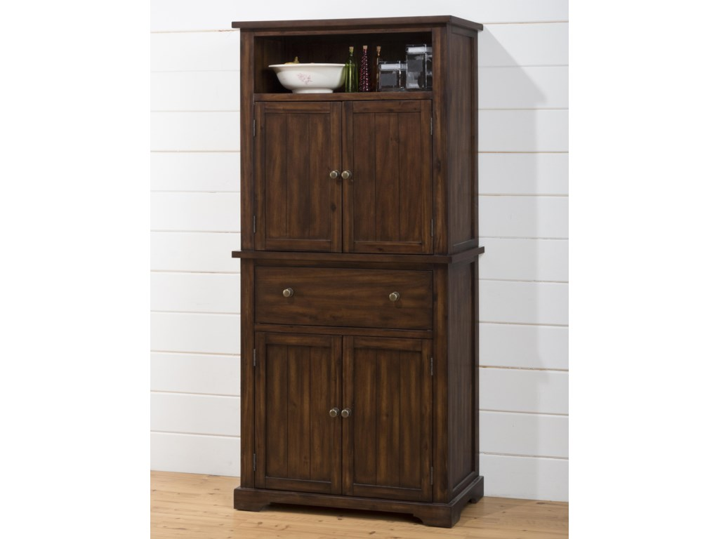 Jofran Cooke CountyDining Cabinet with Chalk and Cork Board