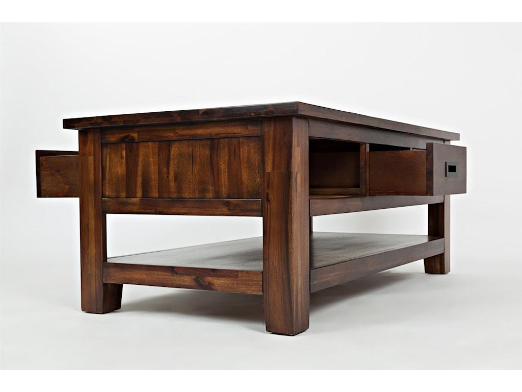 Jofran Coolidge CornerThree Drawer Cocktail Table