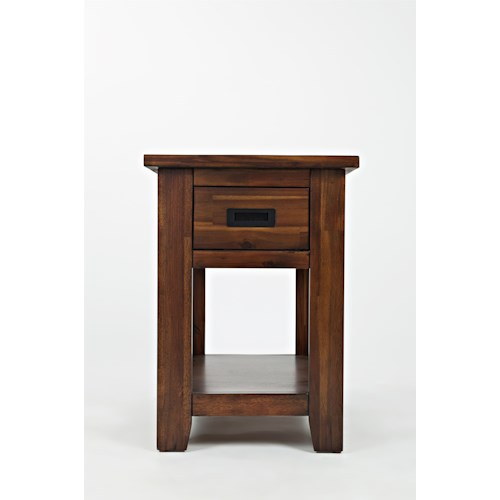 Jofran Coltran One Drawer Chairside Table