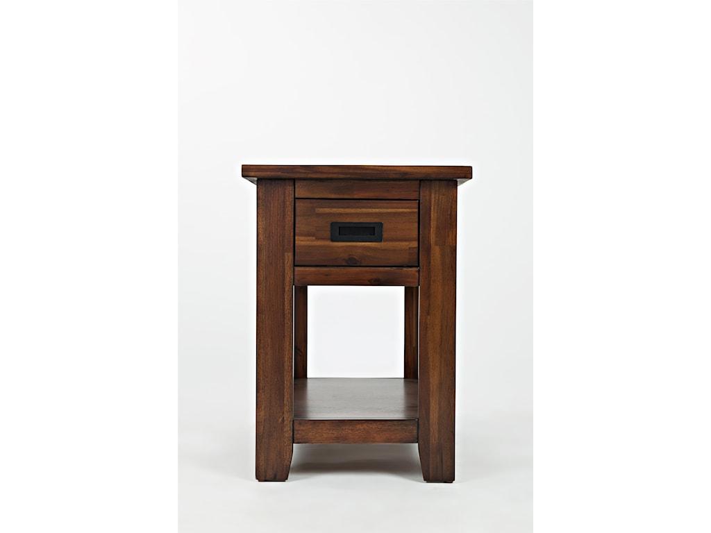 Jofran Coolidge CornerOne Drawer Chairside Table
