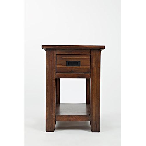 Jofran Coolidge Corner One Drawer Chairside Table