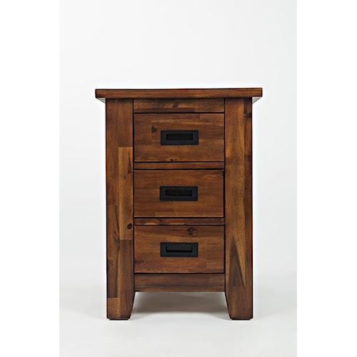Jofran Coltran Cabinet Chairside Table