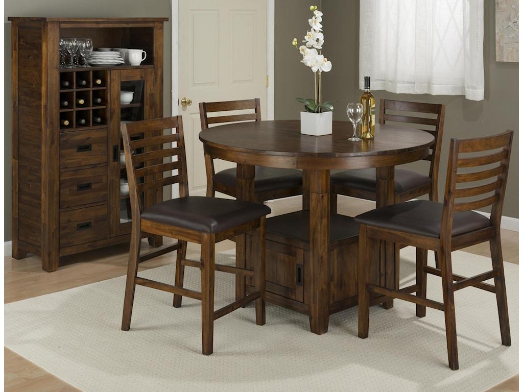 Jofran Coolidge CornerPub Table and Chair Set