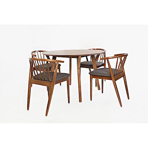 Jofran Copenhagen Round Dining Table and Chair Set