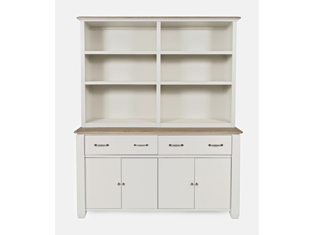 Jofran Dana PointBuffet with Open Hutch