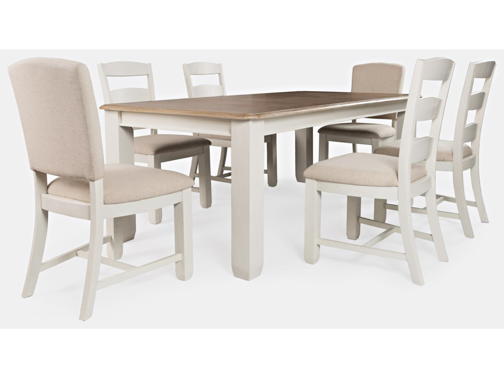 Jofran Dana Point7-Piece Table and Chair Set