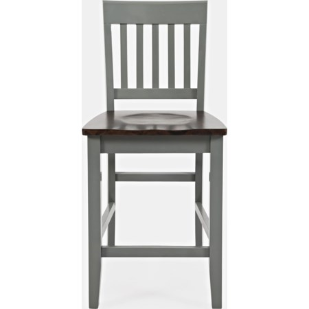 2 Side Counter Stools