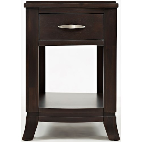 Jofran Downtown Chairside Table
