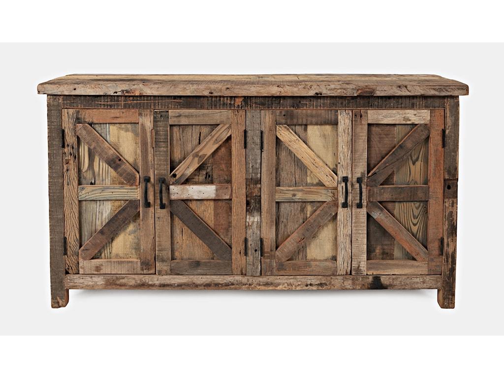 Jofran Eden Prairie4 Door Accent Cabinet