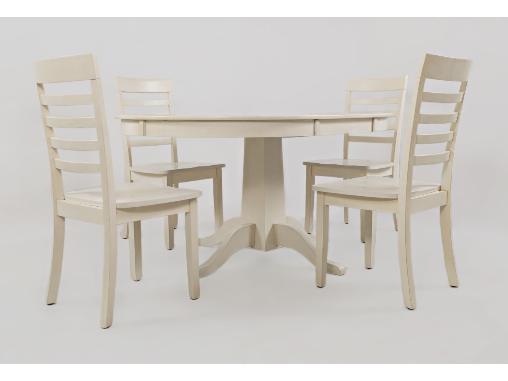 Jofran Everyday Classics Kitchen Table and 4 Chair Set ...