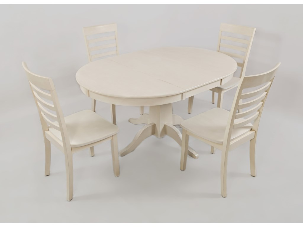 Jofran Everyday ClassicsRound to Oval Dining Table