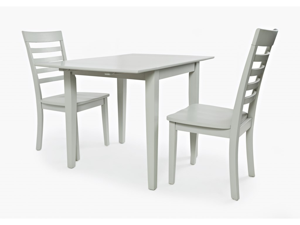 Jofran Everyday ClassicsDrop-Leaf Rectangle Table and 2 Chair Set