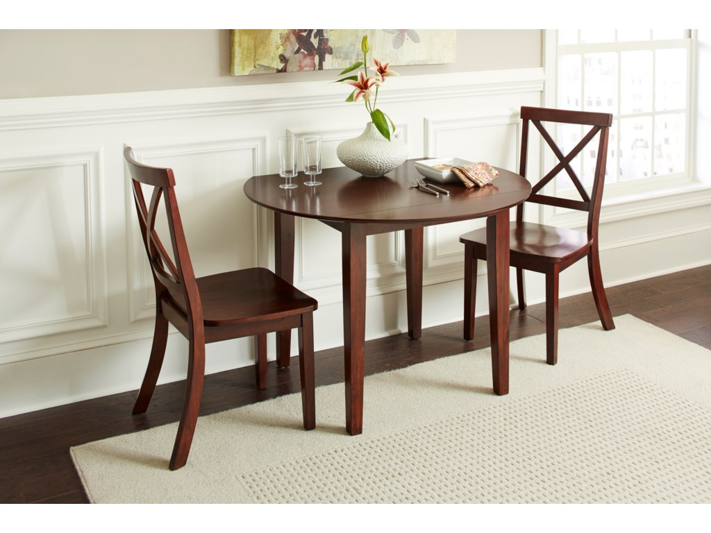 Jofran Everyday ClassicsDrop Leaf Table and 2 Chair Set