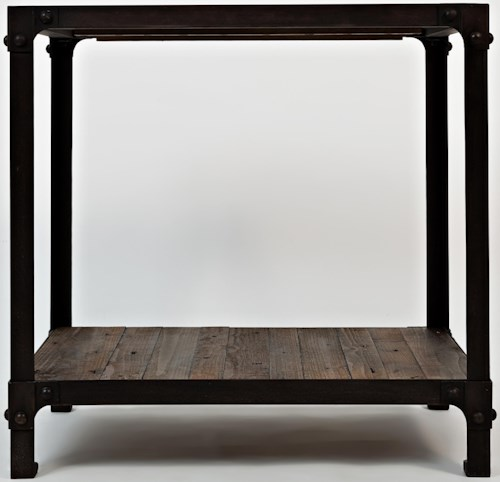 Jofran Reclaimed Pine Chairside End Table