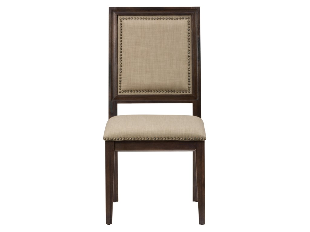 Jofran Geneva HillsSide Chair with Upholstered Back and Seat
