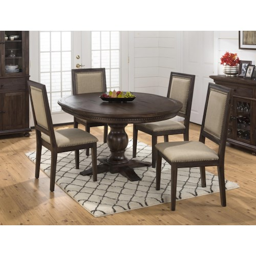Jofran Geneva Hills Table and Side Chair Set