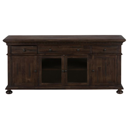 "Jofran Evelyn 70"" Multi-Purpose Media Cabinet with Storage"