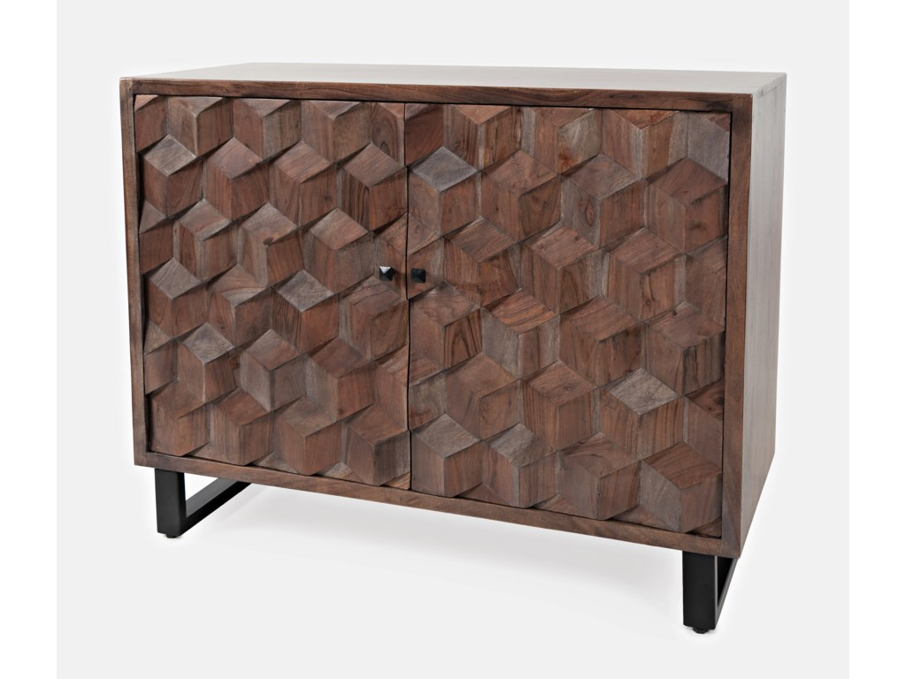 Jofran Geometrix2-Door Accent Cabinet