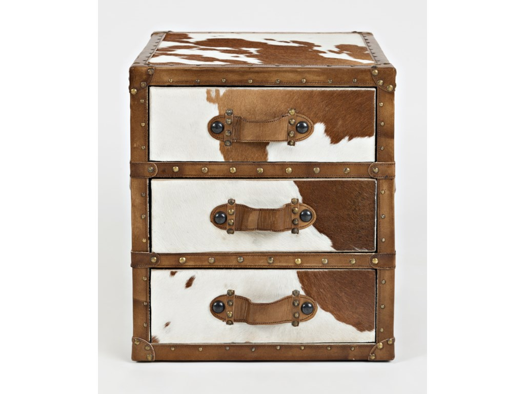 Jofran Global ArchiveHair-on-Hide Accent Chest