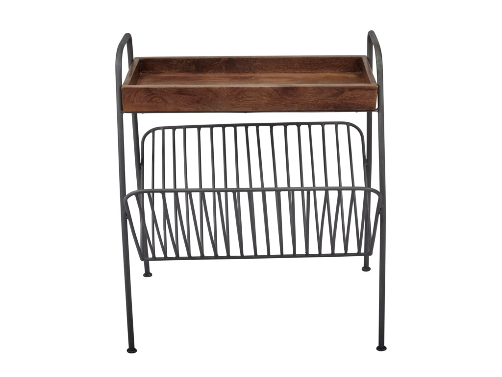 Jofran Global ArchiveMagazine Rack Chairside Table