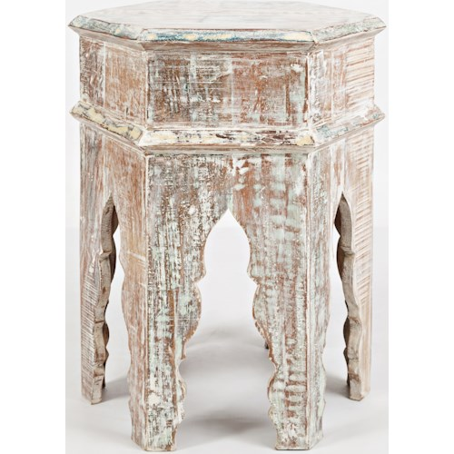 Jofran Global Archive Arabesque Accent Table
