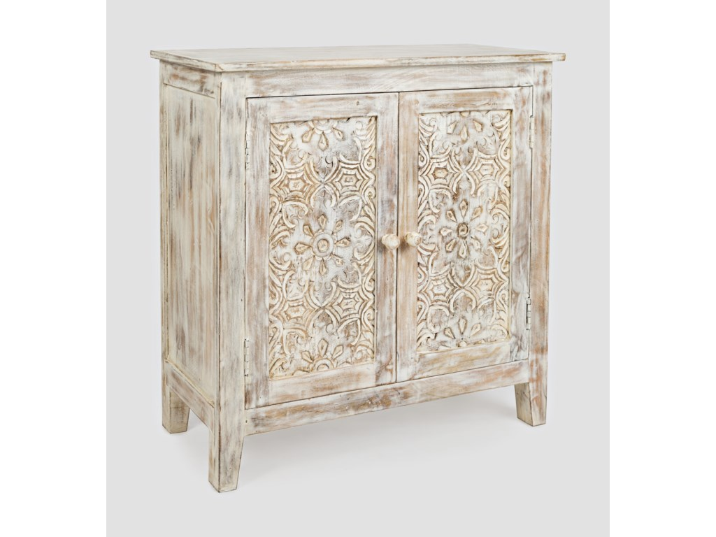 Jofran Global ArchiveHand Carved Accent Chest