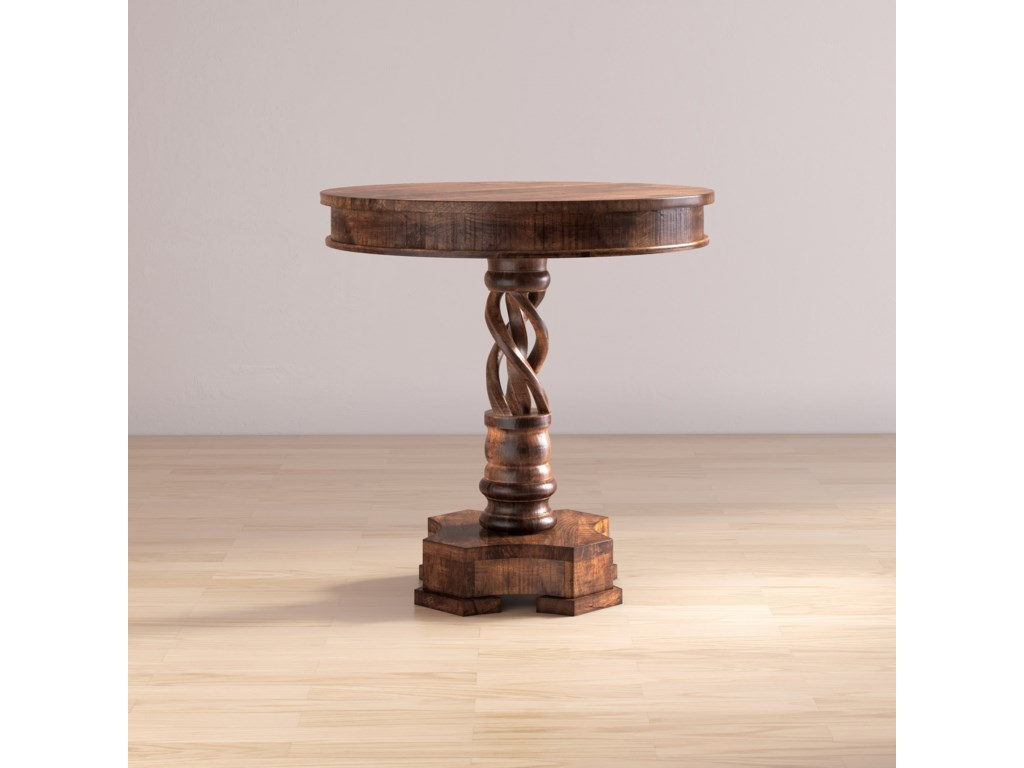 Jofran Global ArchiveHand Carved Pedestal Table