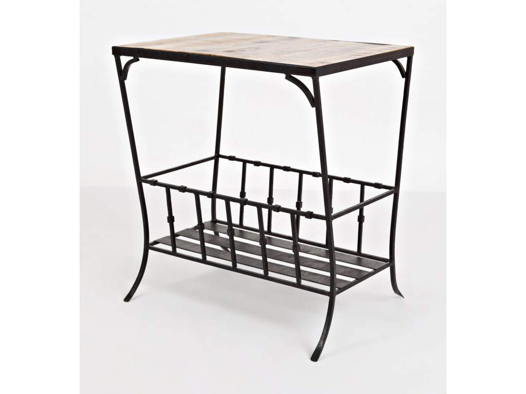 Jofran Global ArchiveStorage Chairside Table