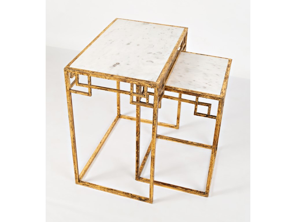 Jofran Global ArchiveSet of 2 Nesting Tables