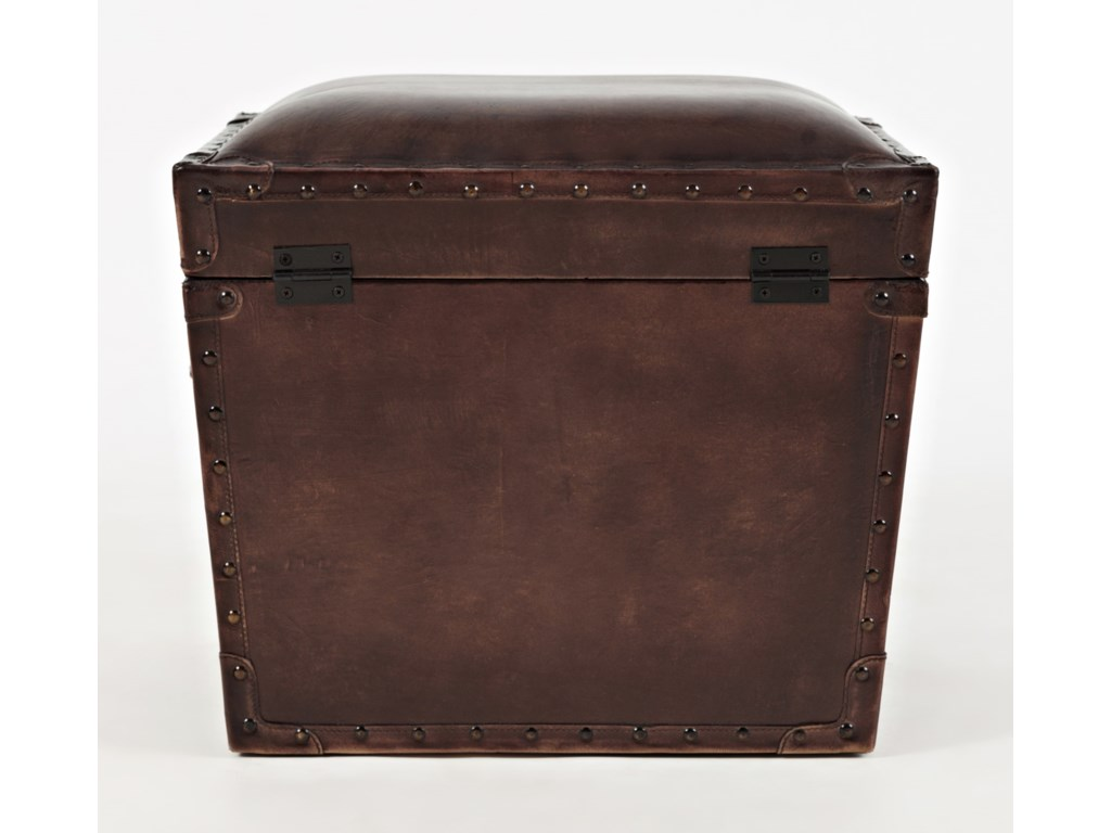 Jofran Global ArchiveLeather Storage Chest