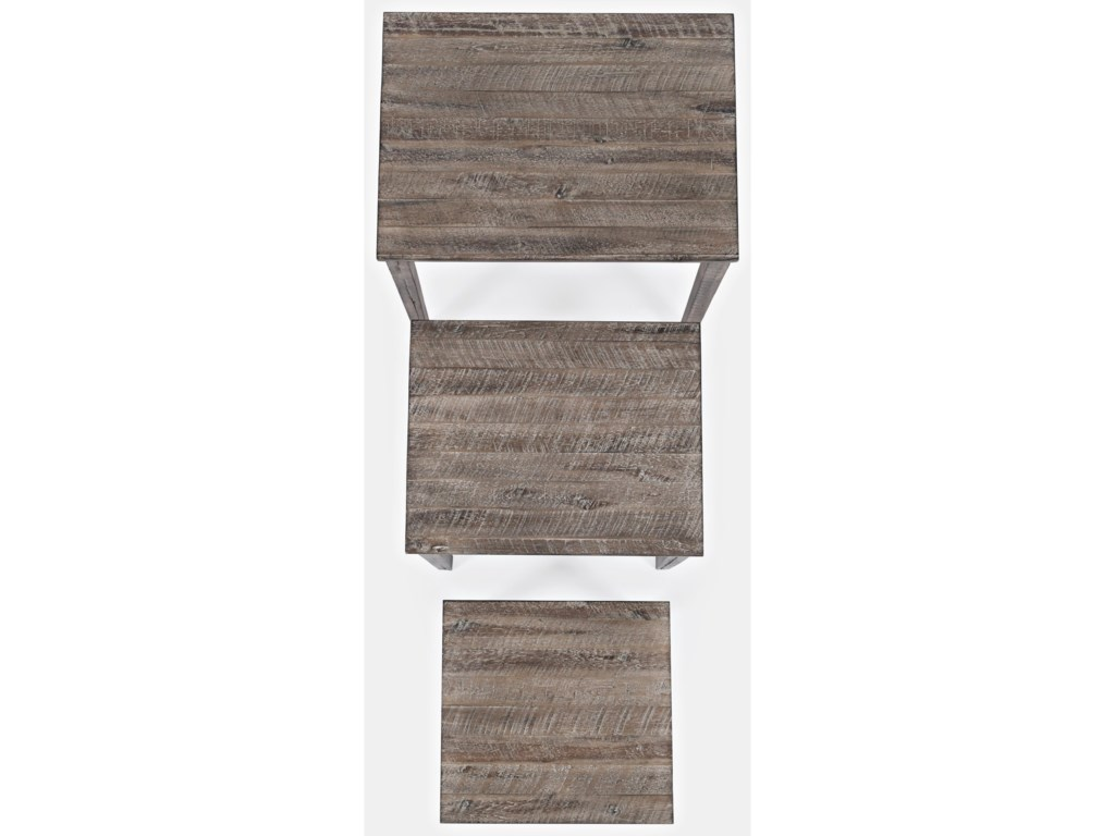 Jofran Global ArchiveClark Solid Wood Nesting Tables