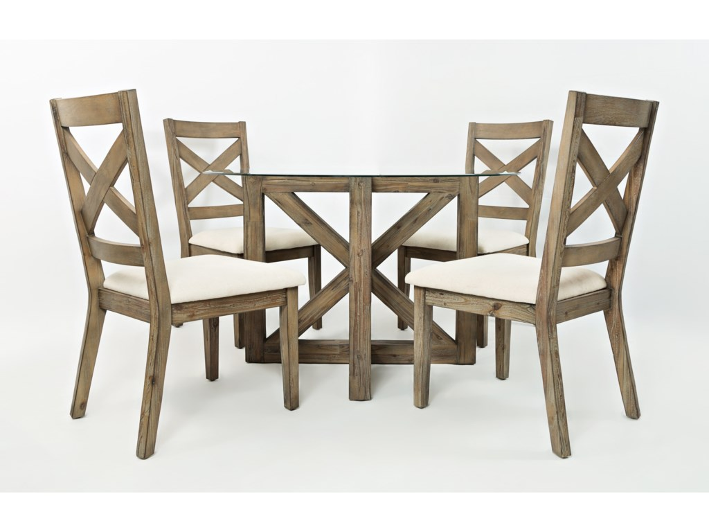 Jofran Hampton RoadRound Table and Chair Set
