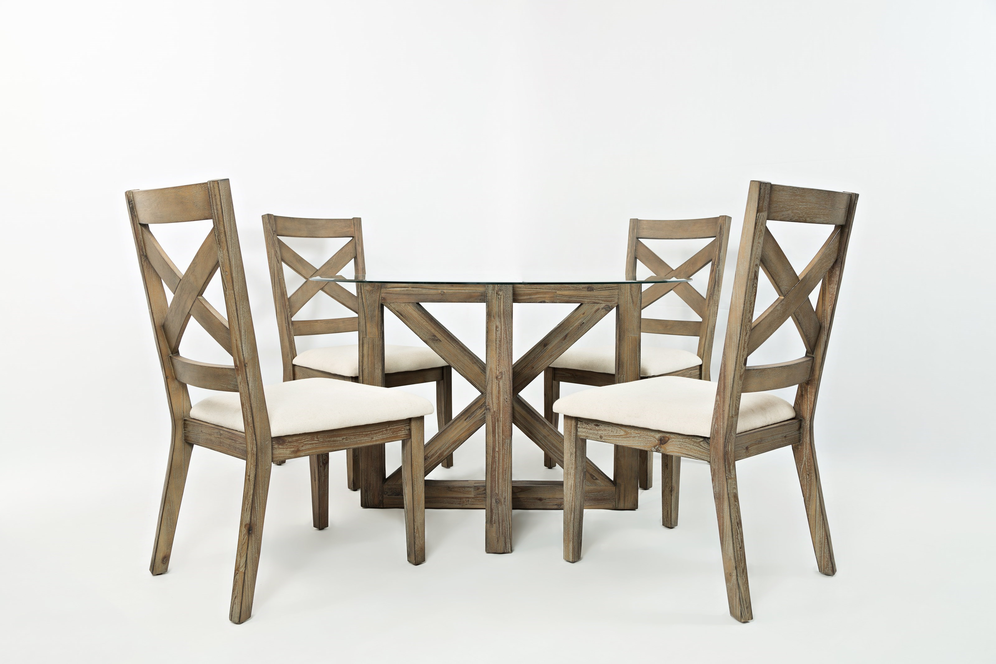 Jofran Hampton Road Round Table And Chair Set (4 People)