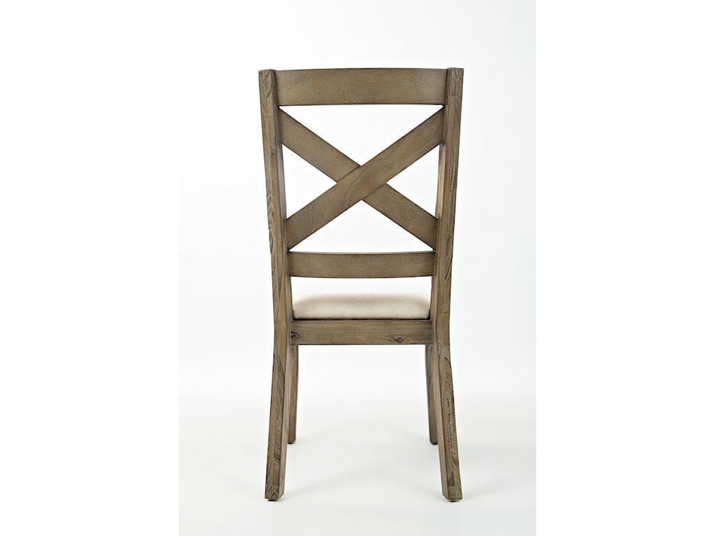 Jofran Hampton RoadX Back Dining Chair